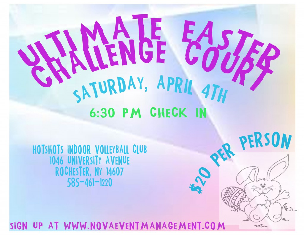 ULTIMATE EASTER CHALLENGE COURT