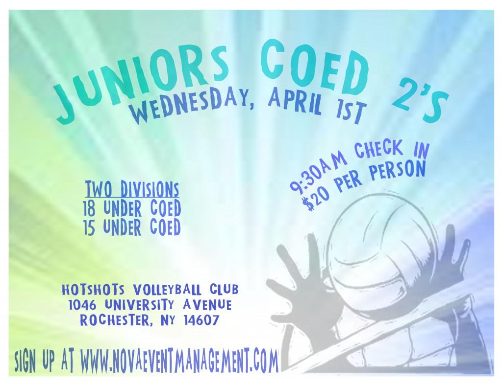 juniors coed 2's