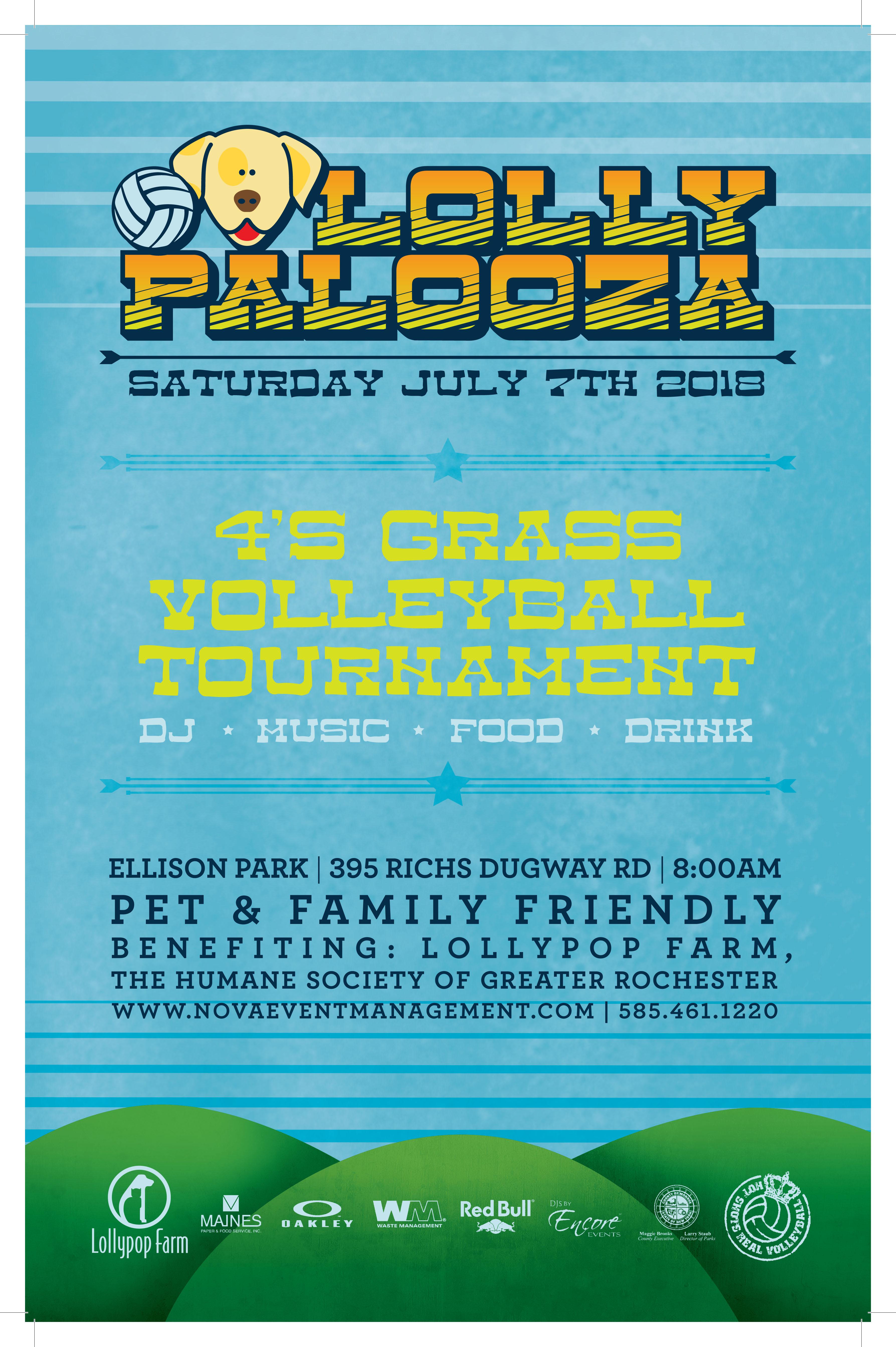 LollyPalooza @ Ellison Park 7-7-18